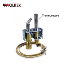 kitchen gas valve thermocouple for flame fuel furnace boiler