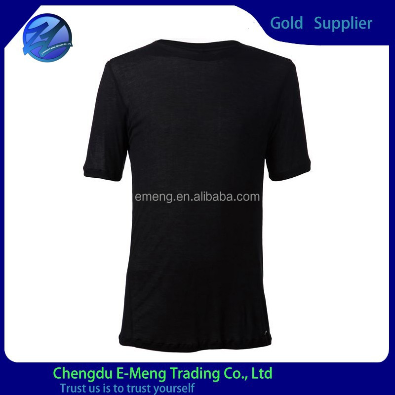 Super breathable boat neck mans blank t shirt wholesale in china