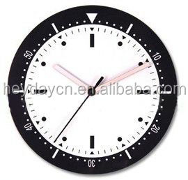canvas painting wall clock