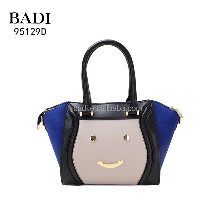College Models Handbag 2017 Ladies Bags Images With Smile Decorate