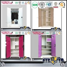 Modern wardrobe furniture cheap wardrobe closet design from Luoyang STEELITE
