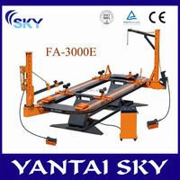 China Supplier CE FA-3000E Auto Body Repair tools / Frame Machine / Car Bench