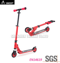 Big 2 wheels kids pedal rock board scooter, extreme adult snow kick ski scooter