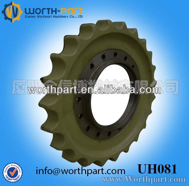 Hitachi Excavator UH081 Segment Group/Sprocket