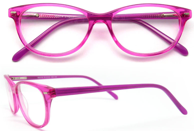 latest glasses frames for girls with spring hinge lady eyewear