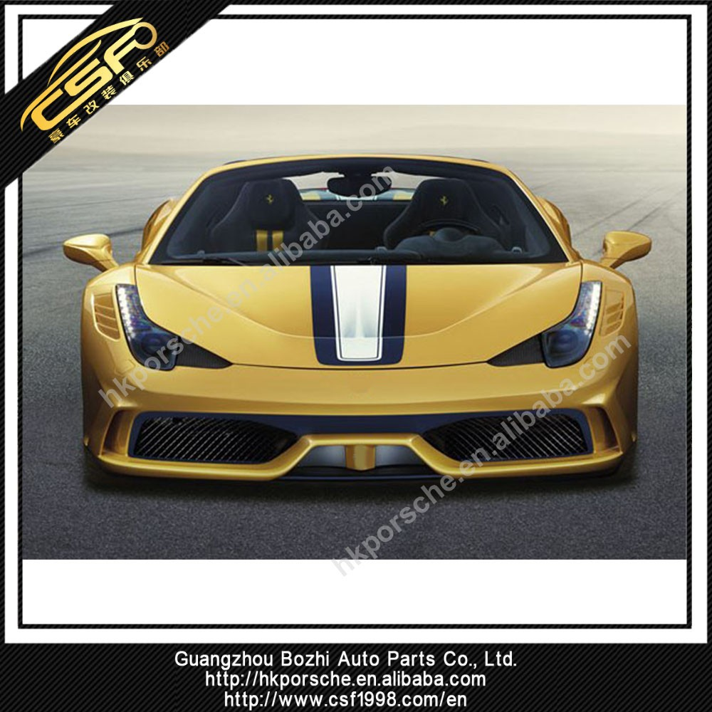 Special Style Body Kits For Ferrari 458