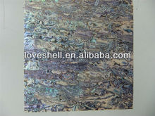 Blue abalone/paua shell paper/laminate Decoration