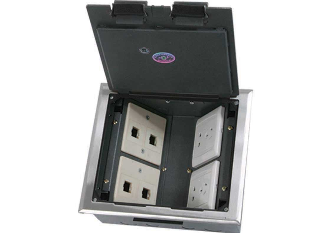 Square outlet box/Accessories