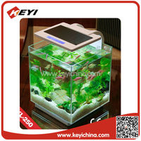 Transparent high grade large acrylic fish tank