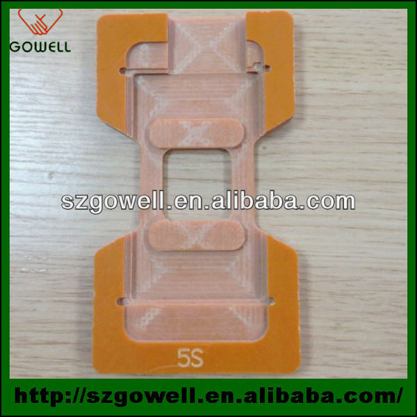 Wholesale lcd touch screen repair tools plastic lcd mould mold for iPhone 6 mobilephone repair paypal accepted