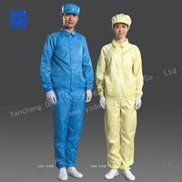 Hot-sale ESD Lapel Smock for Cleanroom