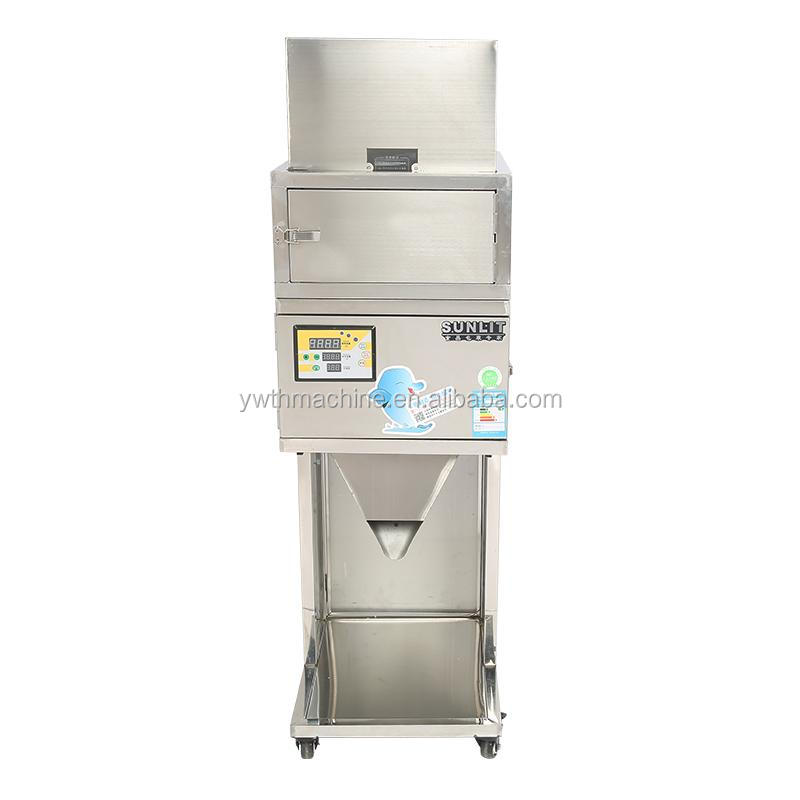 10-1200g Cereals grains hardware medicinal materials capsule powder racking <strong>machine</strong>