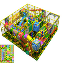 Free design factory price indoor frame theme playground soft park equipment for sale