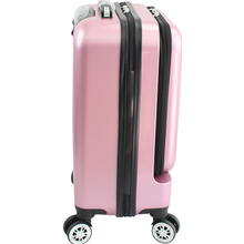 ABS PC hard shell 20 inch carry-on luggage cabin trolley suitcase