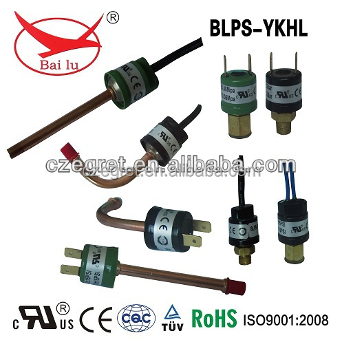 Automatic pressure sensitive switch for central air conditioner