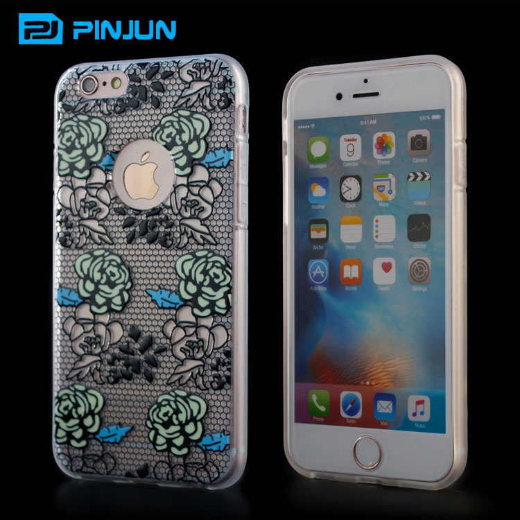Oem custom 3d blank phone cases for uv printing sublimation mobile cover for iphone 7 6 6s silicone case