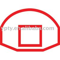 leisure fibre glass basketball backboard