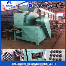 Factory directly supply round shape charcoal balls press machine/hot sale strength quality coal brequette