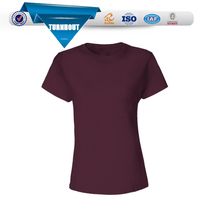 Girls 100 cotton t shirt promotional factory t shirt