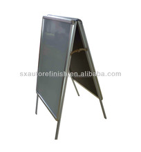Double sided a frame advertising board