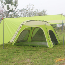 Good service 6 man unique sales dome house car rear outdoor beach camping used tents in guangzhou