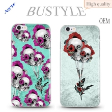 New wholesale alibaba case for iphone 6 6s punk skull cell phone case oem for iphone case