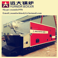 Whirlwind burning chamber design industrial biomass rice husk fired steam boiler