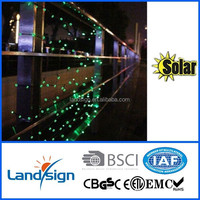 100 LED White Solar String Fairy Light Waterproof Wedding Valentine Party Decor