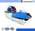 fine sand washing machine, river stone washing and dewatering machine