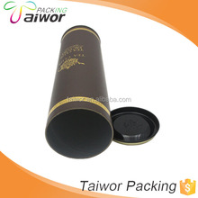 Recyclable Feature and Accept Custom Order Round tube Golf clubs box