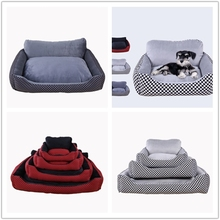 High Standard Soft plush Pet Beds dog cat bed