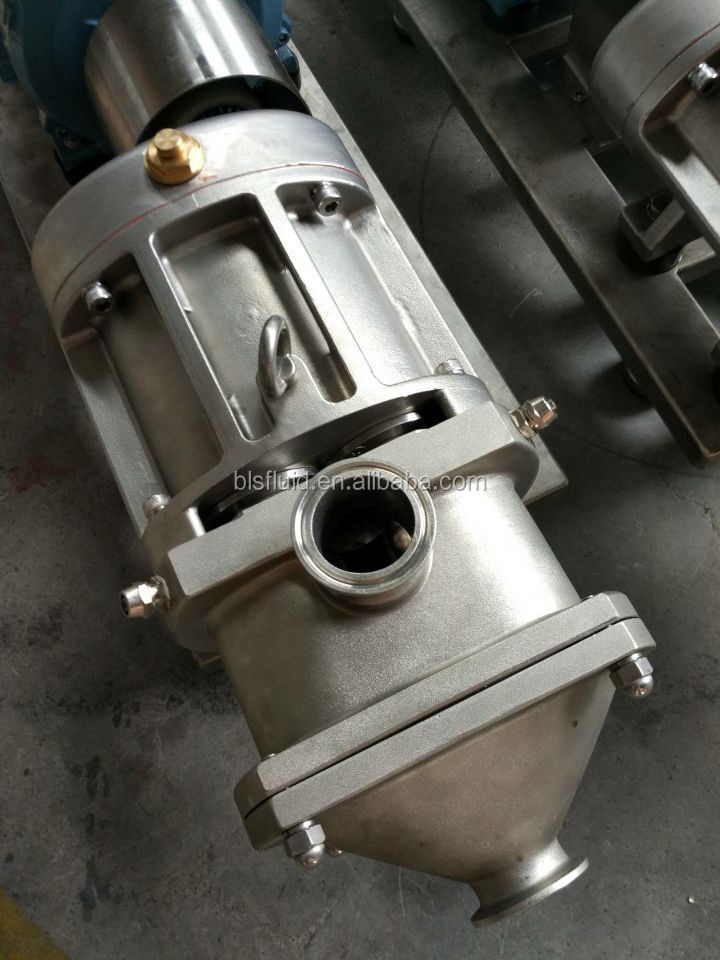 high quality cheese twin screw transfer pump with CE Certificate