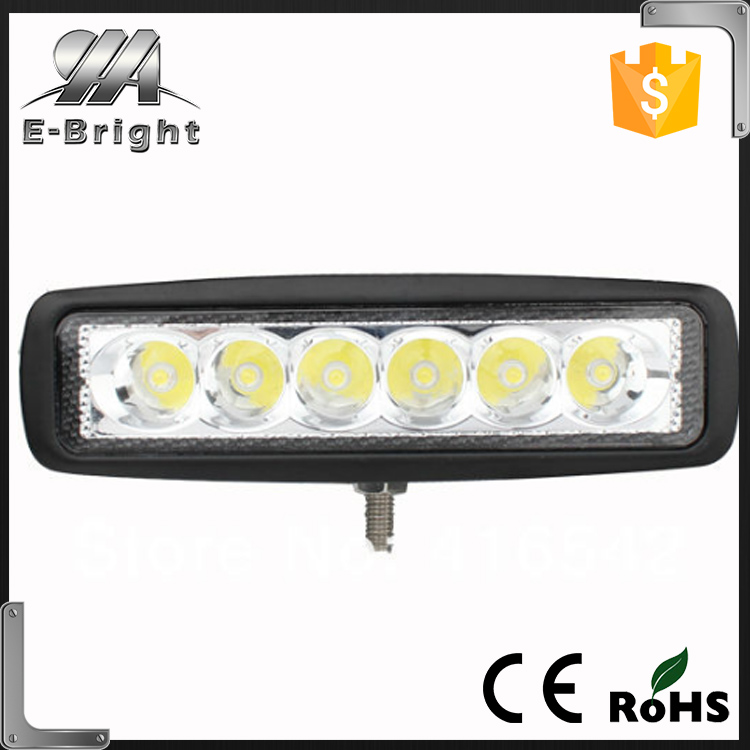 12V 24V 18W 6X3W LED Work Light ATV SUV Mine Boat Lamp Truck Offroad Boat 4WD Jeep Lamp IP67,led tractor working lights