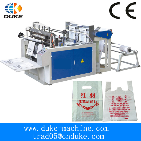 DK-CJ Bottom Sealing Hot Cutting Plastic Bags Making Machinery
