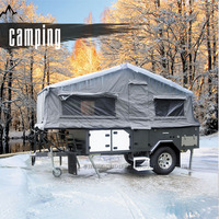 Off Road RV Camping Trailer with 8-year Experience