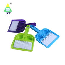Short Handle Plastic Blue Dustpan Brush Set For Table Cleaning,Handle Brush