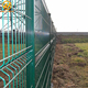Green Vinyl 4x4 Powder PVC Coated Welded Wire Mesh Fence
