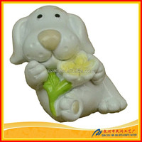 Lovely resin craft dog statue wholesale
