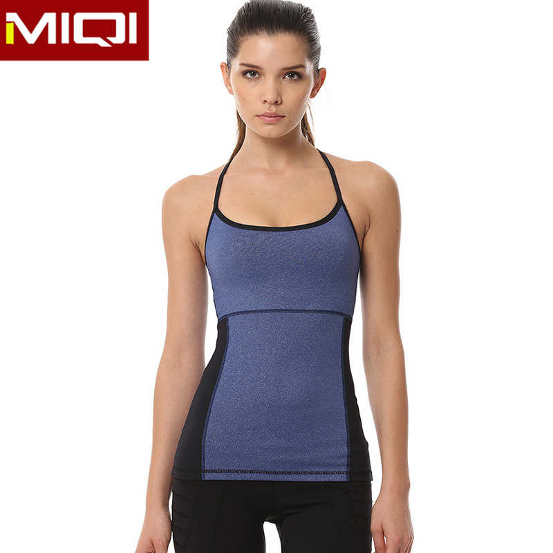 Great Stretch Yoga Apparel Quick Dry Gym Clothing Wholesale Athletic Tank Top