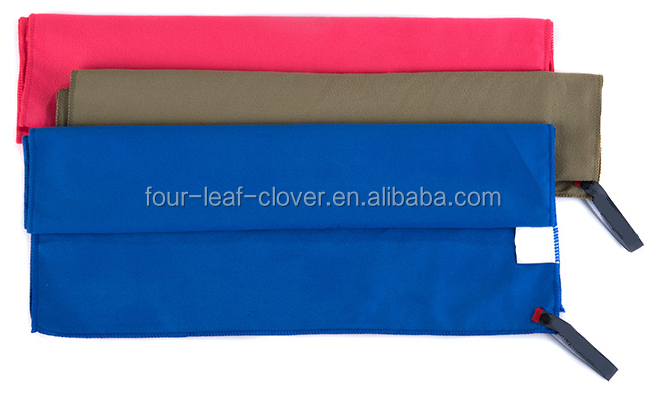 Quick Dry Suede Microfiber Towel For Sports&Beach And Travel, Customized Printing Bath Towel Cleaning Washing Microfiber Towel