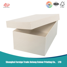 Largest custom corrugated cardboard box white