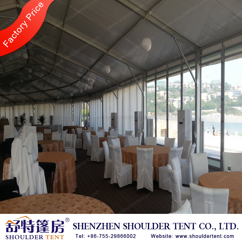2017 hot sale China canvas covered canopy tent exhibition tent