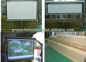 FUTURE Manual Wall Screen with matte white