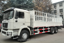 340hp SHACMAN F2000 6x4 stake cargo truck