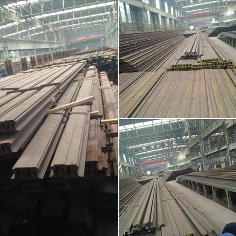 low price p50 50kg steel rail