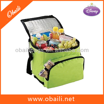 Aluminum foil insulated lunch cooler bag