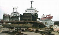 Scrap Vessel and Scrap ship Plates Available