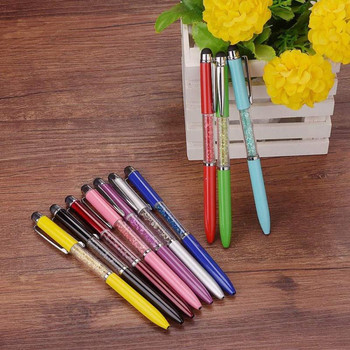 Wholesale promotional crystal writing pen,crystal filled pens
