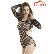 Wholesale women bodysuits backless dress fishnet girls sex wearing teddies