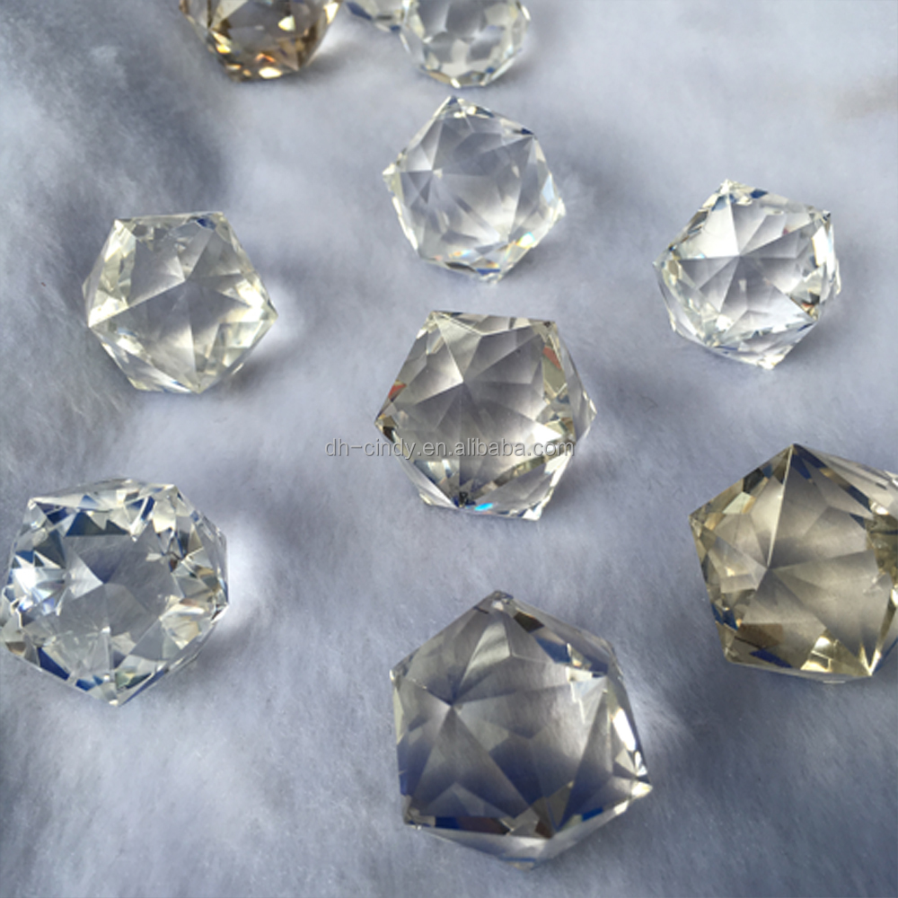 100% Wholesale High Quality Crystal Facet/Polyhedron